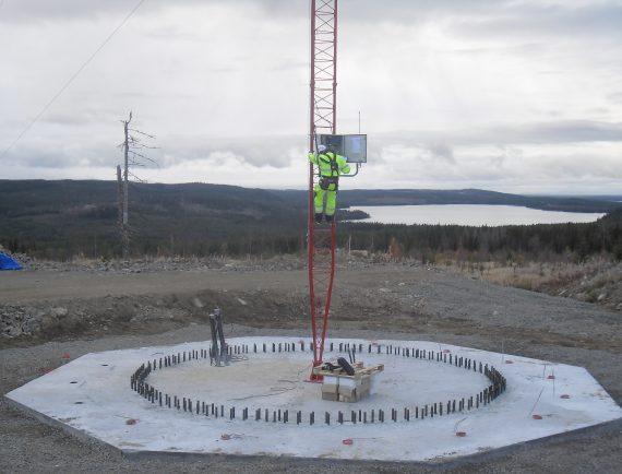 369MW WINDFARMS, BJÖRKHÖJDEN + ÖGONFÄGNADEN SWEDEN, SITE CALIBRATION