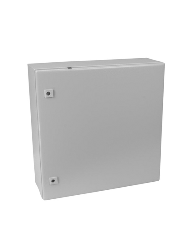 Closed metal enclosure to protect data logger