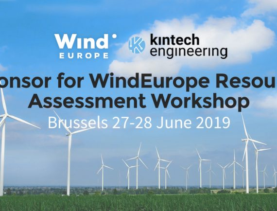Kintech Engineering Sponsors WindEurope Resource Assessment Workshop
