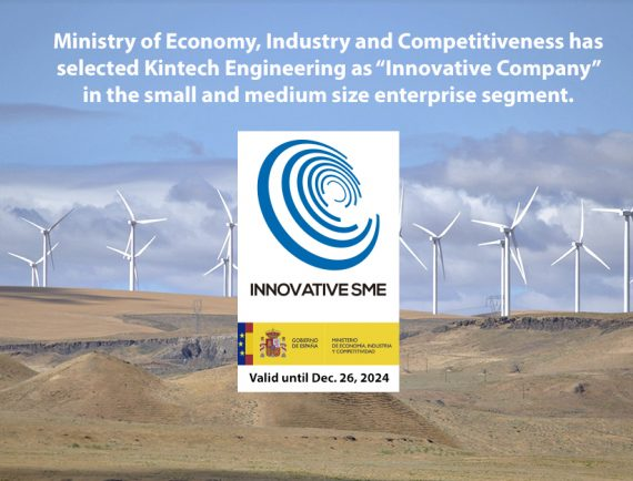 Granted Innovative SME by Ministry of Economy, Industry and Competitiveness