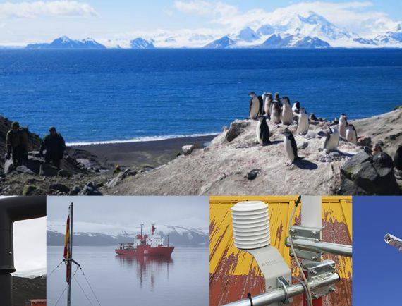 Data-logging and satellite communication to the Gabriel de Castilla scientific research center in Antarctica